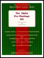Alpha Pre-Marriage Kit