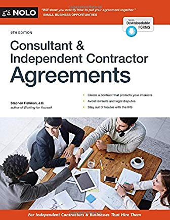 Consultant & Independent Contractor's Agreements