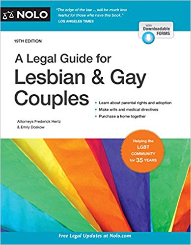 Legal Guide for Lesbian & Gay Couples, A (Legal Guide for Lesbian and Gay Couples)