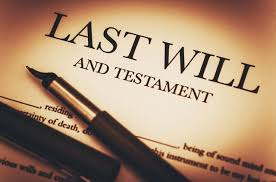 Codicil to a Last Will & Testament